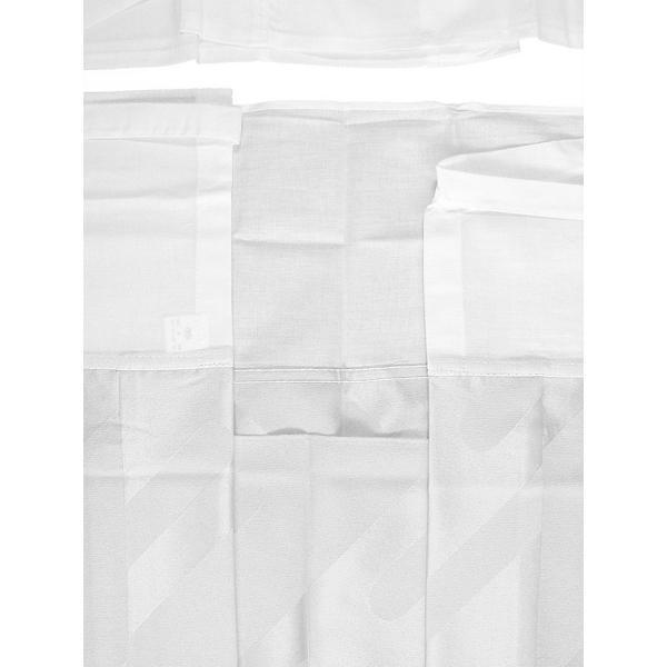 二部式襦袢 半襦袢 東スカート レディース 洗える二部式長襦袢 白 M L|kameya|05