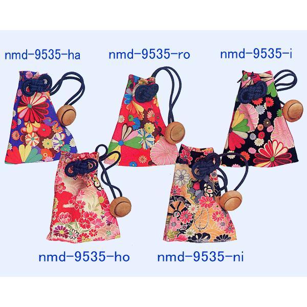 巾着 袋 バッグ ポーチ きんちゃく 祭り 巾着袋 カラフル ファスナー 花柄5種|kameya