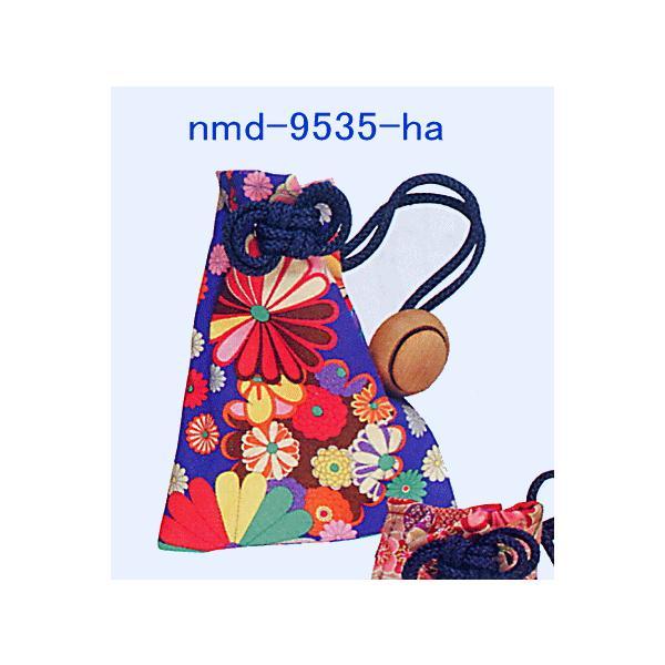 巾着 袋 バッグ ポーチ きんちゃく 祭り 巾着袋 カラフル ファスナー 花柄5種|kameya|04