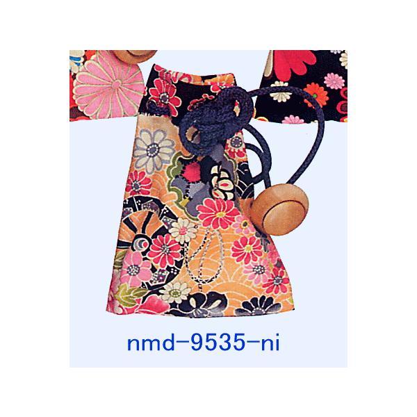 巾着 袋 バッグ ポーチ きんちゃく 祭り 巾着袋 カラフル ファスナー 花柄5種|kameya|05