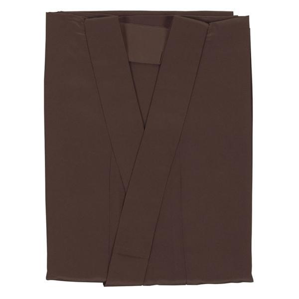 長襦袢 和装下着 男性 メンズ 抜群の裾さばき 洗える長襦袢 茶 M L LL|kameya