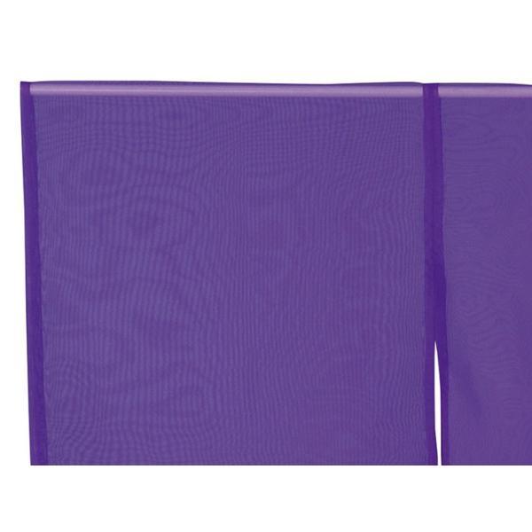 羽織 はおり 紗 オーガンジー レース ショール ストール 踊り 舞台 パーティー 無地羽織 紫|kameya|02