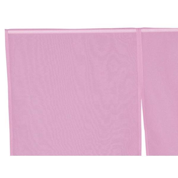 羽織 はおり 紗 オーガンジー レース ショール ストール 踊り 舞台 パーティー 無地羽織 ピンク|kameya|02