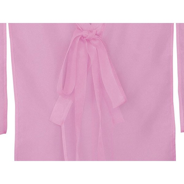 羽織 はおり 紗 オーガンジー レース ショール ストール 踊り 舞台 パーティー 無地羽織 ピンク|kameya|04