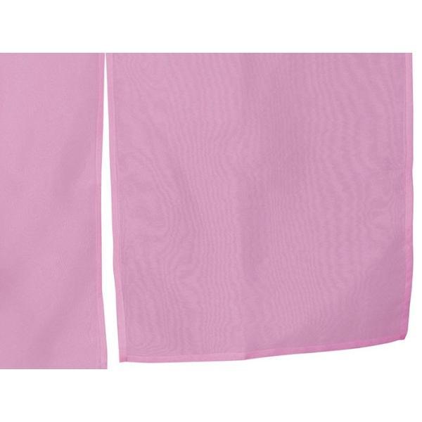 羽織 はおり 紗 オーガンジー レース ショール ストール 踊り 舞台 パーティー 無地羽織 ピンク|kameya|05