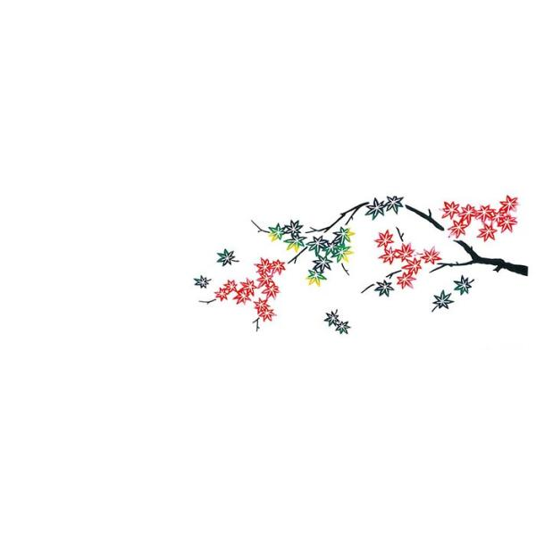 手拭い 踊り 手ぬぐい 祭り 手拭 日本 てぬぐい 舞踊 小道具 注染 113cm もみじ|kameya