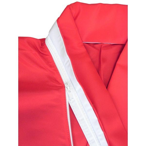 二部式襦袢 半襦袢 東スカート レディース 洗える二部式長襦袢 赤 M L|kameya|03