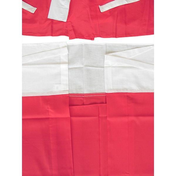 二部式襦袢 半襦袢 東スカート レディース 洗える二部式長襦袢 赤 M L|kameya|04