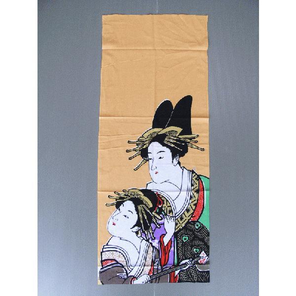 手拭い 日本 手ぬぐい 祭り 手拭 踊り てぬぐい 注染 浮世絵 粗品 お年賀 90cm 寿曽我の対面 kameya