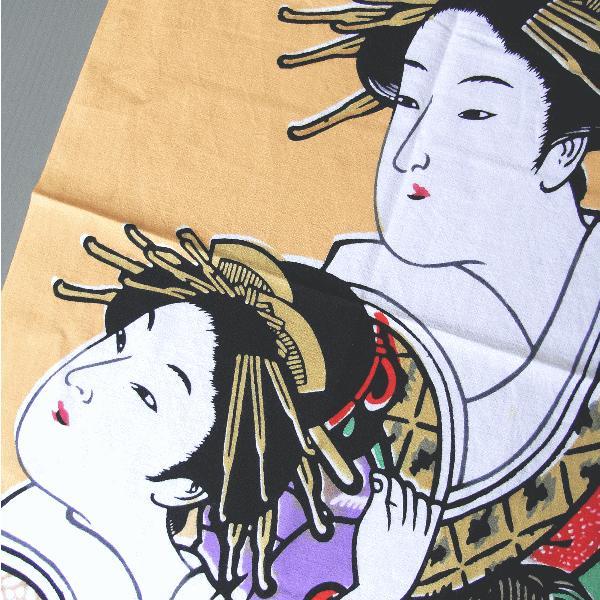 手拭い 日本 手ぬぐい 祭り 手拭 踊り てぬぐい 注染 浮世絵 粗品 お年賀 90cm 寿曽我の対面 kameya 02