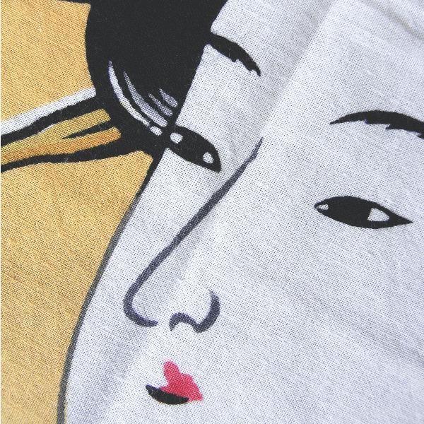 手拭い 日本 手ぬぐい 祭り 手拭 踊り てぬぐい 注染 浮世絵 粗品 お年賀 90cm 寿曽我の対面 kameya 03