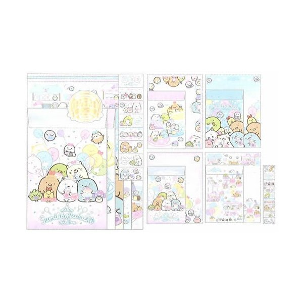 すみっコぐらしS/Gレターセット(封筒便箋セット)(LH70801)