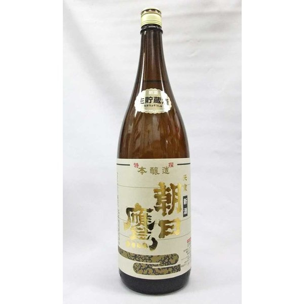 朝日鷹  新酒 特撰本醸造 生貯蔵酒 1800ml 日本酒