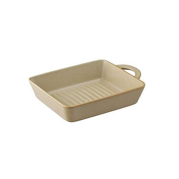 アイトー美濃焼「グリルスタジオ」トーストプレートベージュ26708316.4cm