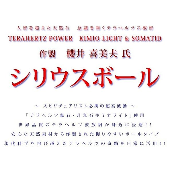 日本最高峰のテラヘルツ波を味わう「シリウスボール」1箱=2個入り|kamiobina|02