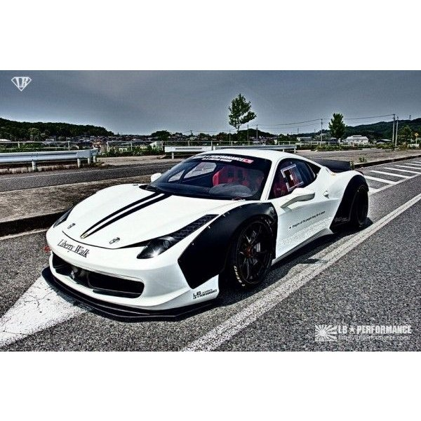 ferrari 458 lb works body kit lip spoiler type complete kit 70011
