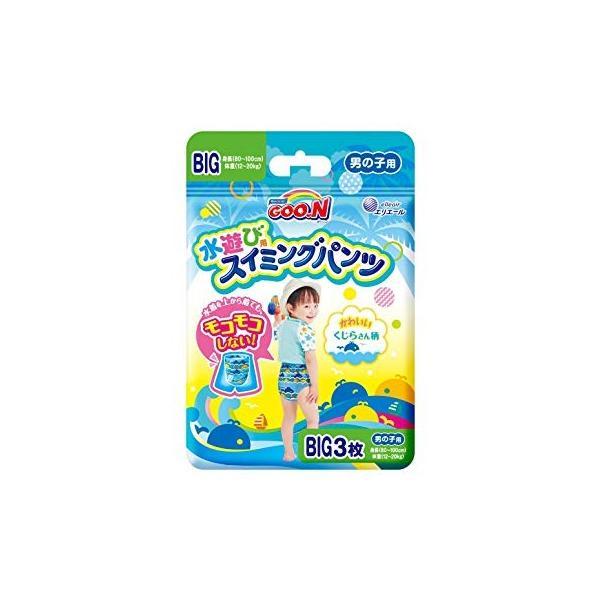 大王製紙 グ〜ン スイミングパンツ BIGサイズ3枚 男の子 12パック入り 送料無料|kamiyasan