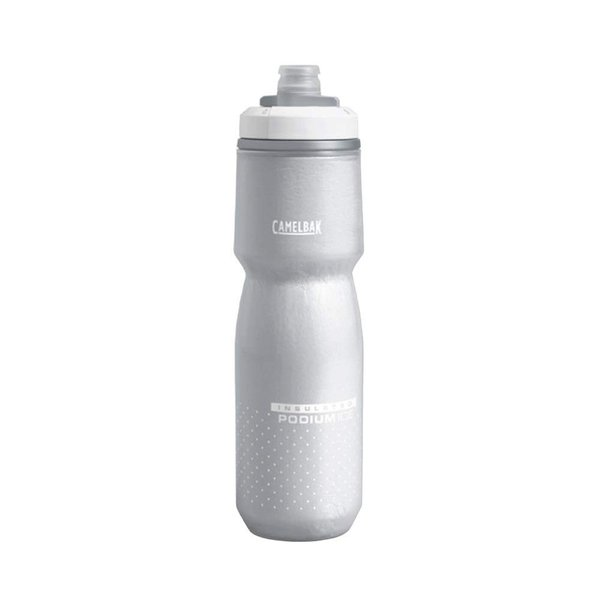 CAMELBAK(キャメルバック) ポディウムアイス 自転車用保冷保温ボトル 保冷効果4倍 エアロジェル採用 620ml(21oz) ホワイ kamoshika