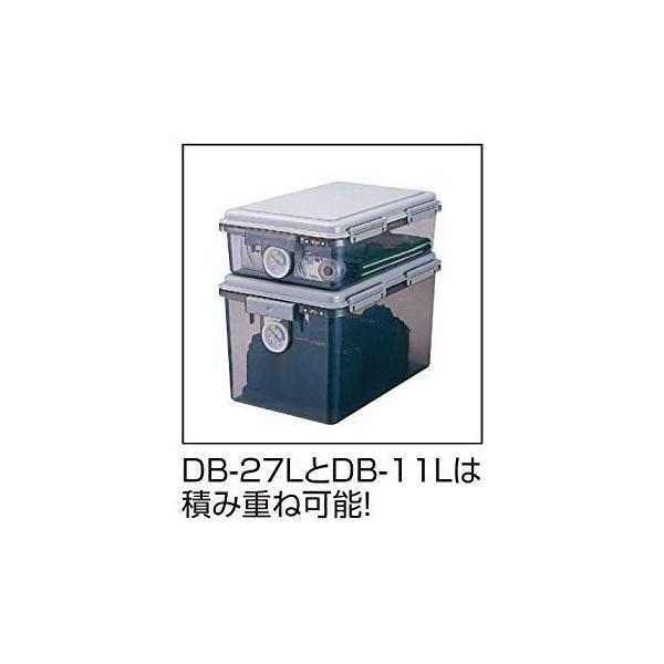 ナカバヤシ キャパティ ドライボックス 防湿庫 カメラ保管 11L グレー DB-11L-N|kamoshika|02
