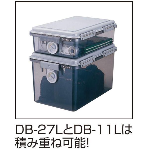 ナカバヤシ キャパティ ドライボックス 防湿庫 カメラ保管 11L グレー DB-11L-N|kamoshika|12
