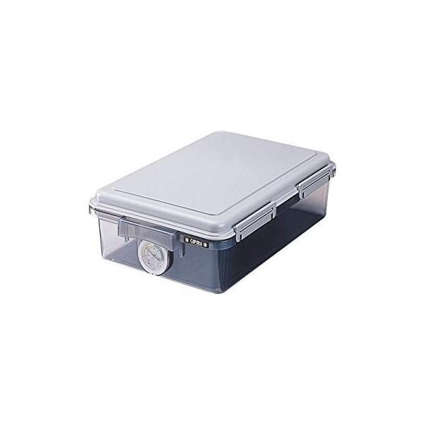 ナカバヤシ キャパティ ドライボックス 防湿庫 カメラ保管 11L グレー DB-11L-N|kamoshika|10