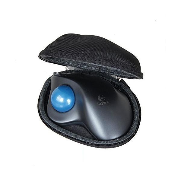 ロジクール ワイヤレストラックボール M570t 専用ケース LOGICOOL Wireless Trackball M570t case kamoshika 03