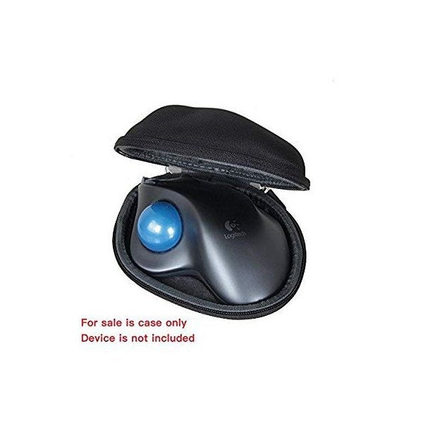ロジクール ワイヤレストラックボール M570t 専用ケース LOGICOOL Wireless Trackball M570t case kamoshika 08