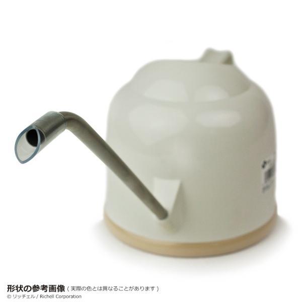 庭 ガーデニング 散水 水栓 水周り じょうろ 水やり リッチェル Richell ラウンド水さし|kamoshikanet|09