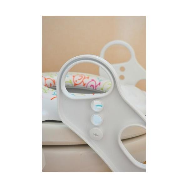 おまる 補助便座 リトルプリンセス かえるのふかふか ステップ式トイレトレーナー ベビー 赤ちゃん baby 1歳|kamoshikanet|06