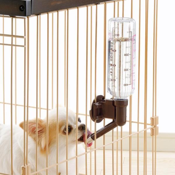 ペット用品 犬 食器 餌やり 水 給水器 リッチェル Richell ウォーターノズル ボトル付|kamoshikanet|02