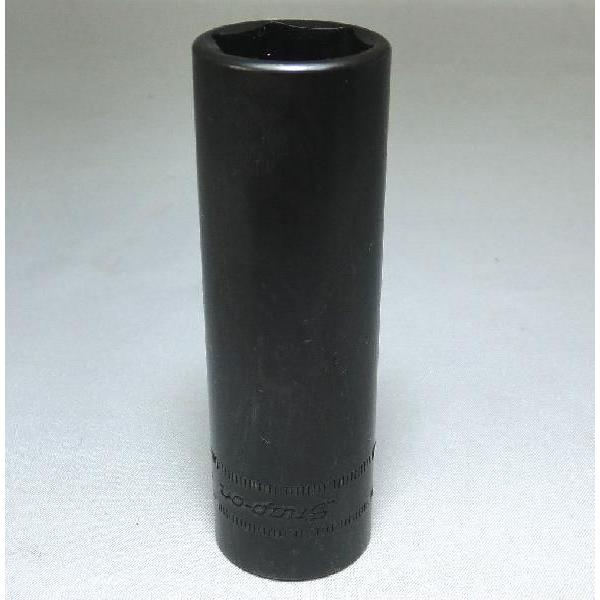 Snap-on (スナップオン) 1/2 差し込み 6角 ディープ ソケット 肉薄 17mm インパクト用 SPM 17 並行輸入品