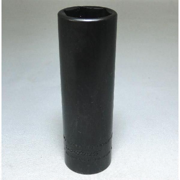 Snap-on (スナップオン) 1/2 差し込み 6角 ディープ ソケット 肉薄 21mm インパクト用 SPM 21 並行輸入品