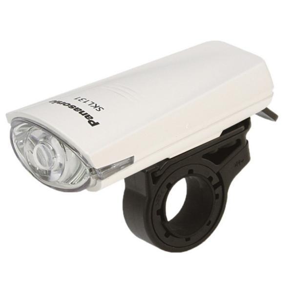 自転車 ライト LED パナソニック  電池サービス  高輝度 白色LED Panasonic SKL131W ホワイト色 (SKL100 後継) JIS規格 kamy2 02
