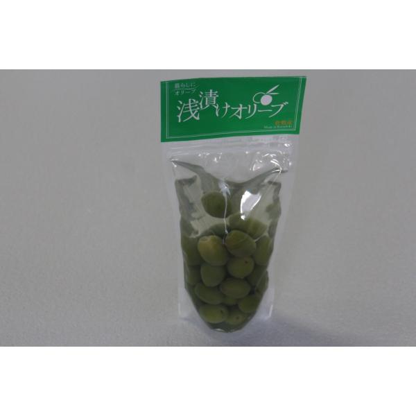 浅漬けオリーブ(グリーン) 袋詰100g kanabe-olive