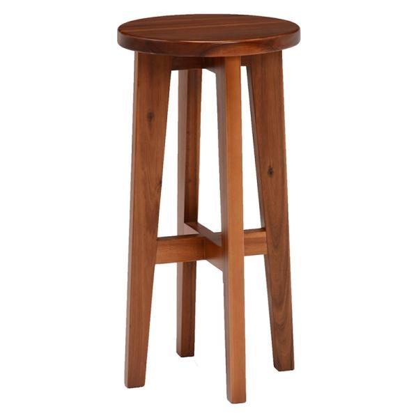 スツール ハイスツール コンソールチェアー 高さが高い 椅子 イス アカシア材 天然木製|kanaemina|02