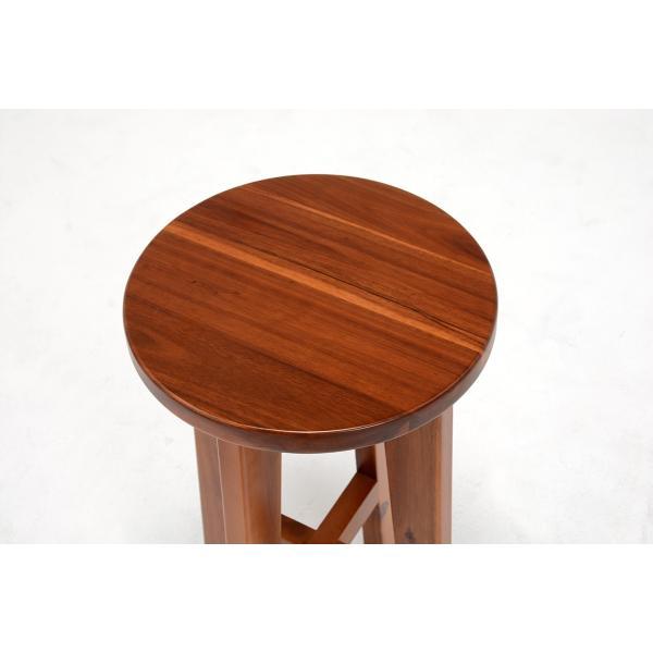 スツール ハイスツール コンソールチェアー 高さが高い 椅子 イス アカシア材 天然木製|kanaemina|03