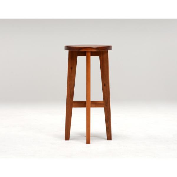 スツール ハイスツール コンソールチェアー 高さが高い 椅子 イス アカシア材 天然木製|kanaemina|04
