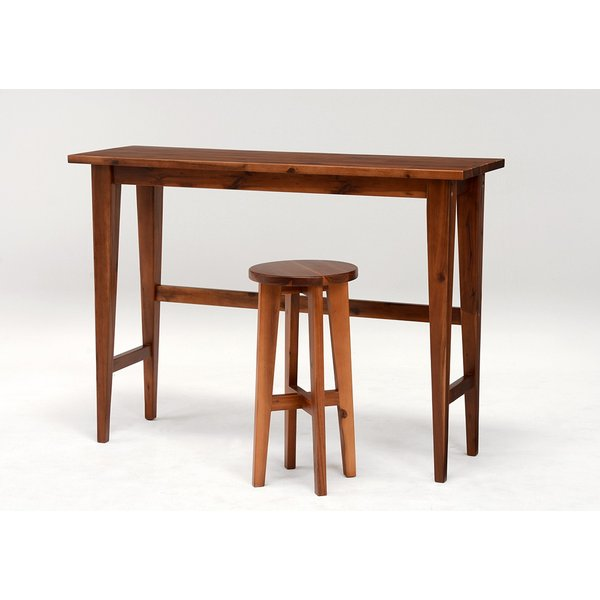 スツール ハイスツール コンソールチェアー 高さが高い 椅子 イス アカシア材 天然木製|kanaemina|05