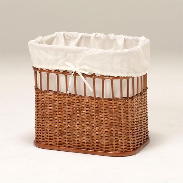 ランドリーバスケット ラック 洗濯物入れカゴ かご付き 籐製 ラタン製家具 キャスター付き|kanaemina|04