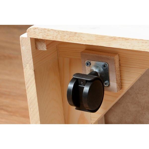 分別ペールカウンター 3分別ダストボックス 25リットル キッチン用ゴミ箱 幅87cm 高さ81cm|kanaemina|14