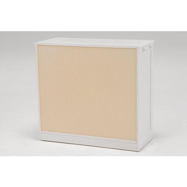 分別ペールカウンター 3分別ダストボックス 25リットル キッチン用ゴミ箱 幅87cm 高さ81cm|kanaemina|15