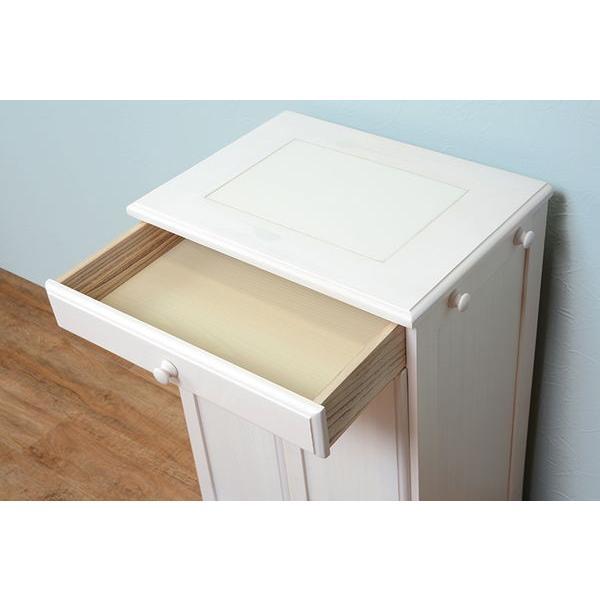 分別ペールカウンター 3分別ダストボックス 25リットル キッチン用ゴミ箱 幅87cm 高さ81cm|kanaemina|05