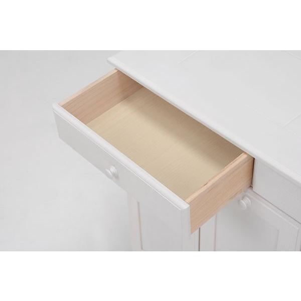 分別ペールカウンター 3分別ダストボックス 25リットル キッチン用ゴミ箱 幅87cm 高さ81cm|kanaemina|06