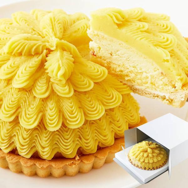 さつまいも モンブランタルト 5号 冷凍 スイートポテト バター クリーム ポテトタルト