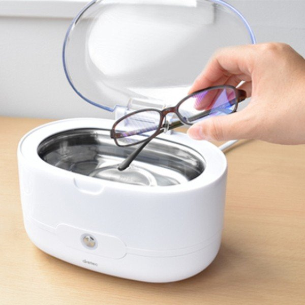 超音波洗浄機 超音波洗浄器 クリーナー メガネ 眼鏡 入れ歯 アクセサリー 時計バンド ネックレス 指輪 貴金属
