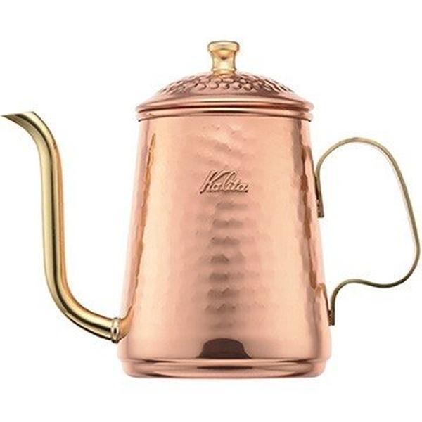 コーヒーポット カリタ 銅製 細口 直火対応 ドリップケトル 600ml|kanaemina
