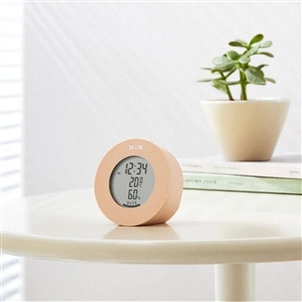 温湿度計  デジタル 温度計 湿度計 タニタ 置き マグネット式 インテリアサーモ ブラウン