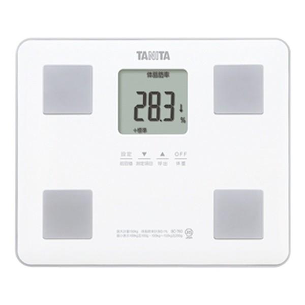 体重計体脂肪計内臓脂肪基礎代謝量体内年齢タニタデジタル体組成計ホワイト