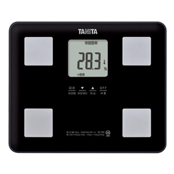 体重計体脂肪計内臓脂肪基礎代謝量体内年齢タニタデジタル体組成計ブラック