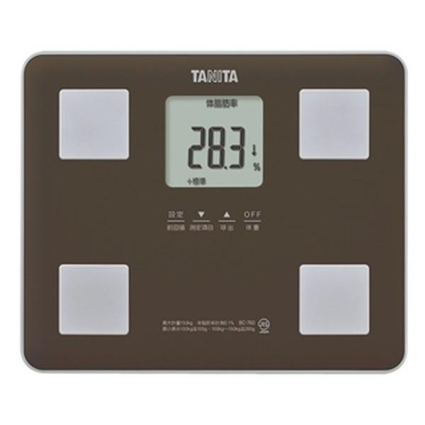 体重計体脂肪計内臓脂肪基礎代謝量体内年齢タニタデジタル体組成計ブラウン